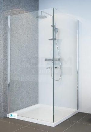מקלחון פינתי 2 דלתות SelAqua
