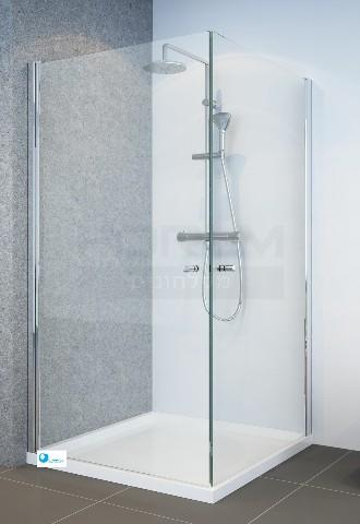 לשפץ את חדר האמבטיה מקלחון פינתי 2 דלתות לפי מידה במגוון רחב של מידות