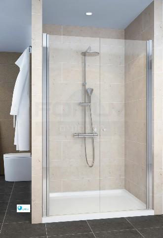 מקלחון חזית 2 דלתות לפי מידה