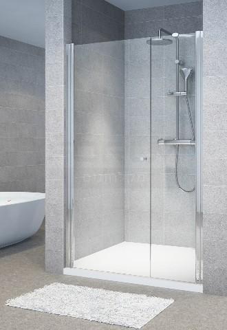 מקלחון חזית דופן קבועה ודלת מגנט
