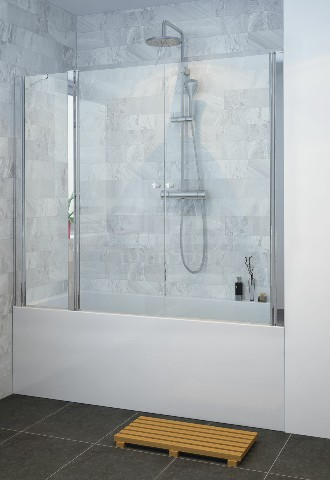 אמבטיון חזית קבוע ו2 דלתות