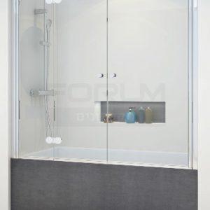 אמבטיון חזית הרמוניקה ודלת