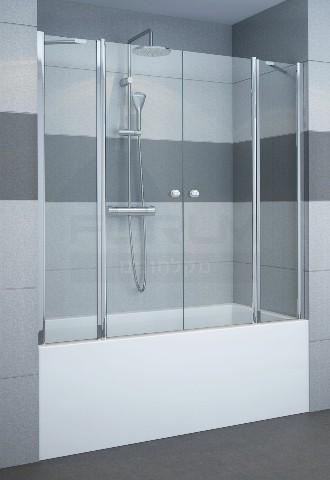 אמבטיון חזית 2 קבועים ו2 דלתות