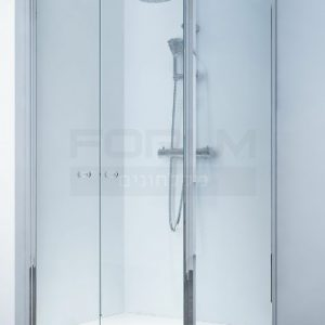 מקלחון פינתי דופן פינה ו2 דלתות