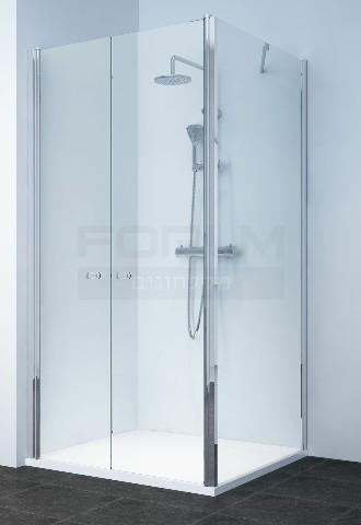מקלחונים ברמת השרון מקלחון פינתי דופן פינה ו2 דלתות