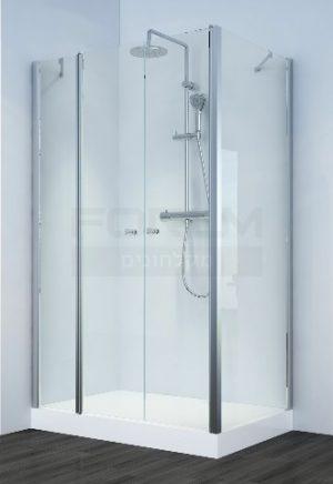 מקלחון פינתי לפי מידה דגם Pablo
