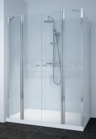 מקלחון פינתי לפי מידה דגם Niko