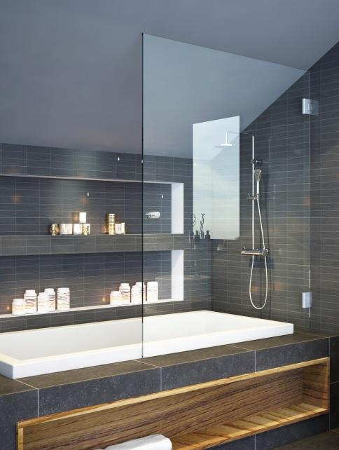 מקלחונים בהרצליה מקלחונים בחריש אמבטיון 8 ממ דלת