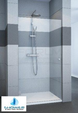מקלחון חזית 8ממ דלת