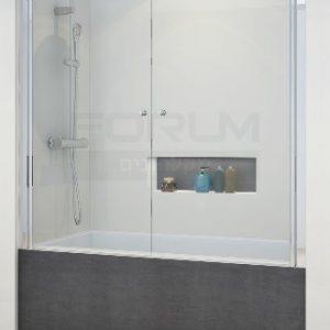 אמבטיון חזית 2 דלתות