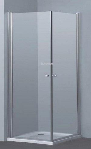 מקלחון פינתי 2 דלתות במבצע